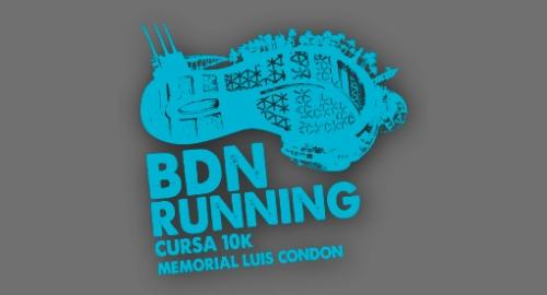 Logo Badalona BDN Running