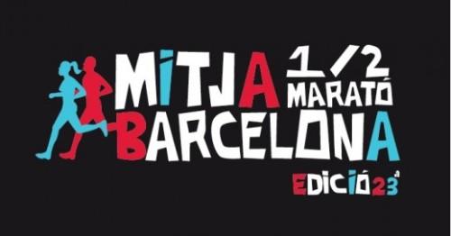 Mitja de Barcelona 2013 Logo