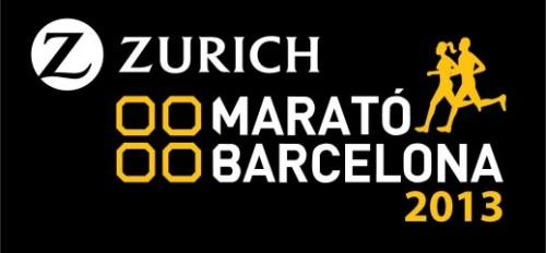Logo Marató de Barcelona 2013