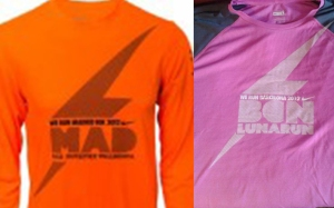 Camiseta San Sivestre Vallecana y Lunar Run