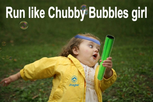 Chubby Bubbles Girl
