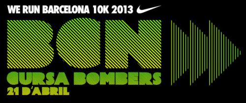 Logo Cursa Bombers 2013