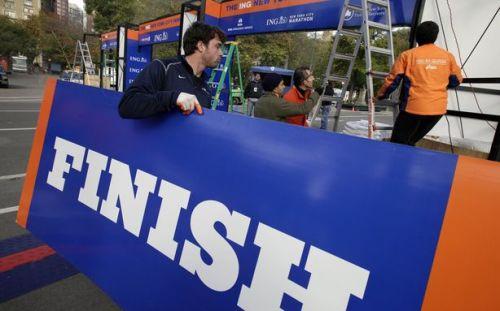 Maratón Final (vía http://www.theatlanticwire.com)