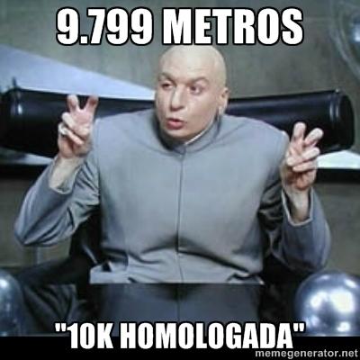 MEME 10k HOMOLOGADA