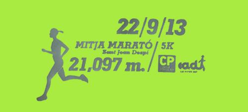 Logo Curs Popular Mitja Sant joan Despí