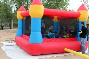 Inflable Punk Trail Manresa