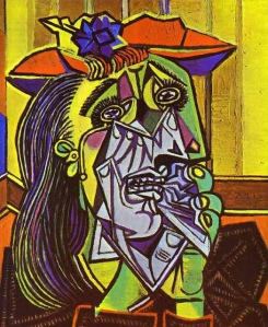 1Pablo Picasso - Weeping Woman 3