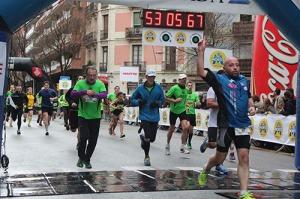 Corredors meta Cursa Sant Antoni