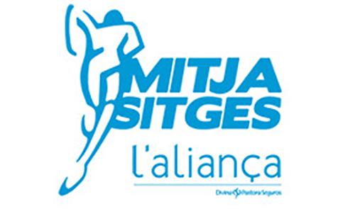 Logo Mitja Sitges 2014