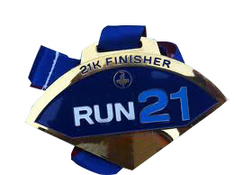 MEDALLA FINISHER 21k