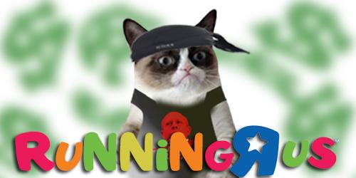 Running_R_US Grumpy Cat DOLLAR
