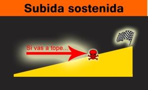 SUBIDA SOSTENIDA
