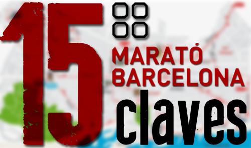 15 claves del recorrido de la Marató de Barcelona