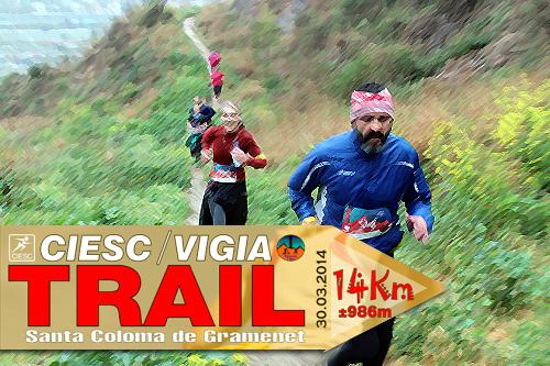 A examen Ciesc Vigia Trail