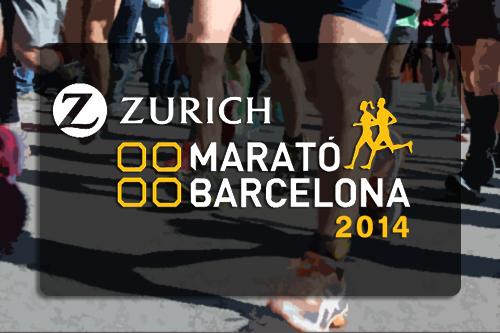 A examen Marato de Barcelona 2014