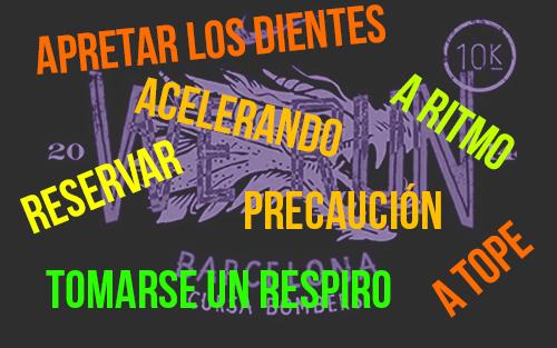 RECORRIDO BOMBERS RECORREGUT BARCELONA 2014