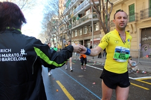Voluntarios Marato Barcelona