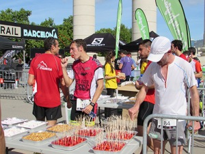 Avituallamiento City Trail Barcelona