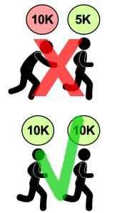CURSA CAN MERCADER 5k vs 10k