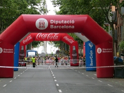 Cajones de salida Cursa Vila Olímpica