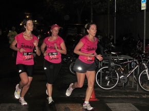 Corredoras A examen Night Running Series Terrassa