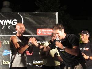 Jaume Leiva A examen Night Running Series Terrassa