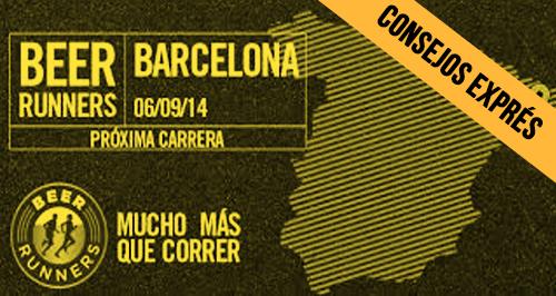 Consejos exprés Beer Runners barcelona