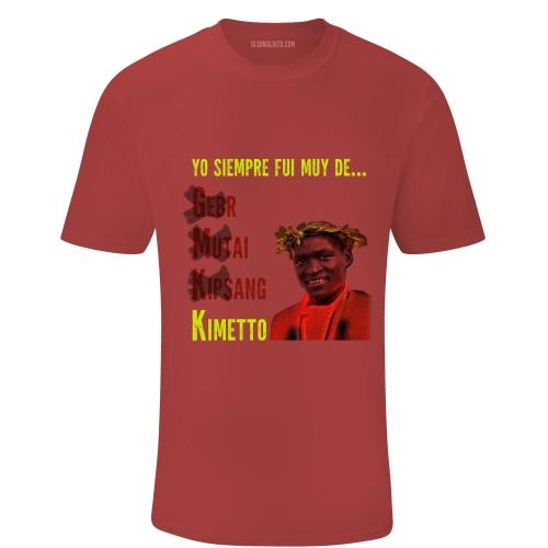 Toca Camiseta Yo siempre fui muy de Kimetto