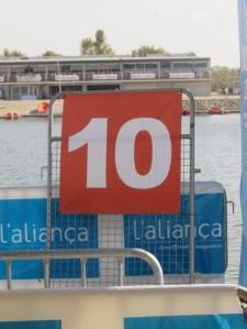 Punt quilomètric Marató del Mediterrani