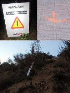 Senyalització Ultra trail Collserola