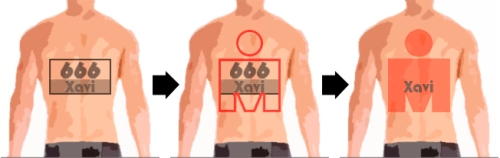 Tatuaje dorsal Ironman