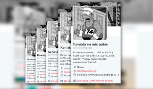 Keniata running twitter