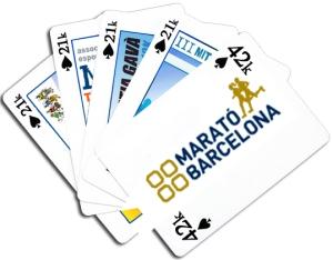 Mitjas para la  Marato Barcelona 1