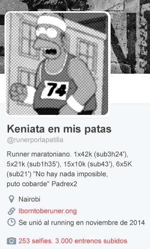 Running twitter correr