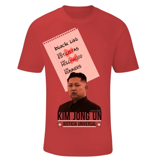 Toca Camiseta KIM JONG UN 3