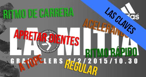 LAS CLAVES MITJA GRANOLLERS 2015