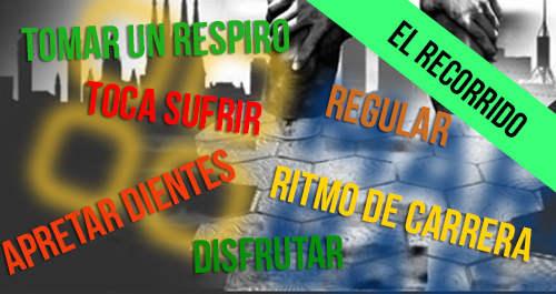 RECORRIDO RITMOS MITJA BARCELONA 2015