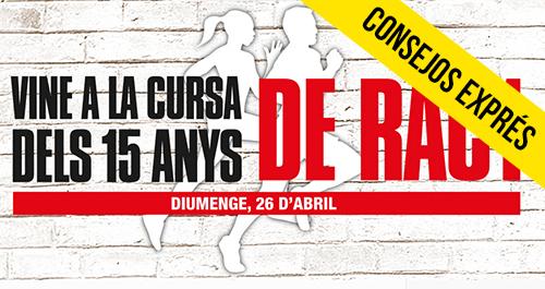 Consejos exprés CURSA RAC1
