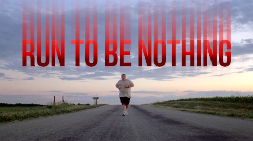 Greatness Running frases RUN TO BE NOTHING