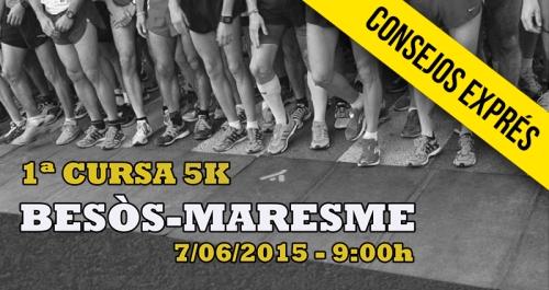 CONSEJOS EXPRES CURSA BESOS MARESME 2015