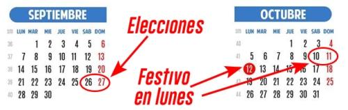 Calendario Carreras populares 2015
