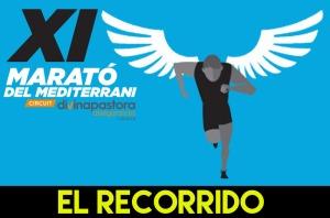 MARATO MEDITERRANI 2015 RECORRIDO RECORREGUT A EXAMEN
