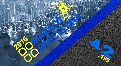 Marató Barcelona 2016 Logo