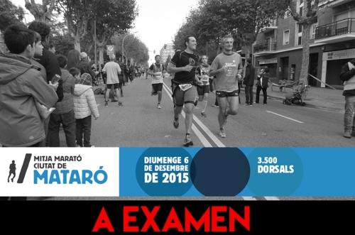 A examen Mitja Marato Mataro