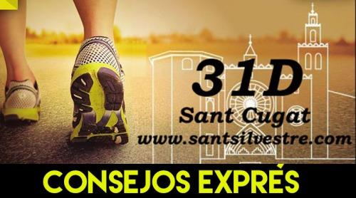 SAN SILVESTRE BARCELONESA SANT CUGAT 2015 CONSEJOS