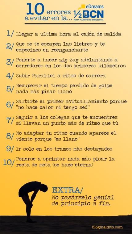 10 errores mitja Barcelona