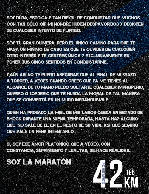 soy la maratón