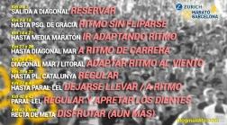 CHULETA CONSEJOS ADVICES ZURICH MARATO BARCELONA