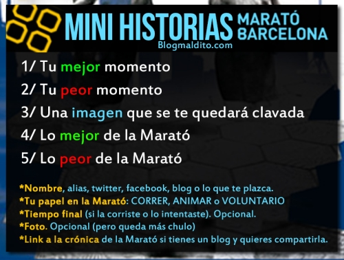 MINI HISTORIAS MARATO BARCELONA 2015