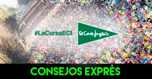 CONSEJOS EXPRES RECORRIDO FOTOS CURSA CORTE INGLES